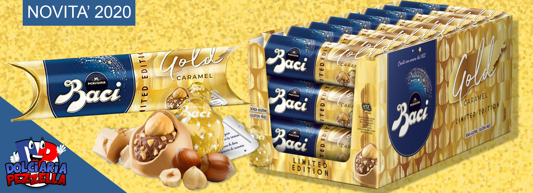 BACIO JUNIOR GOLD CARAMEL