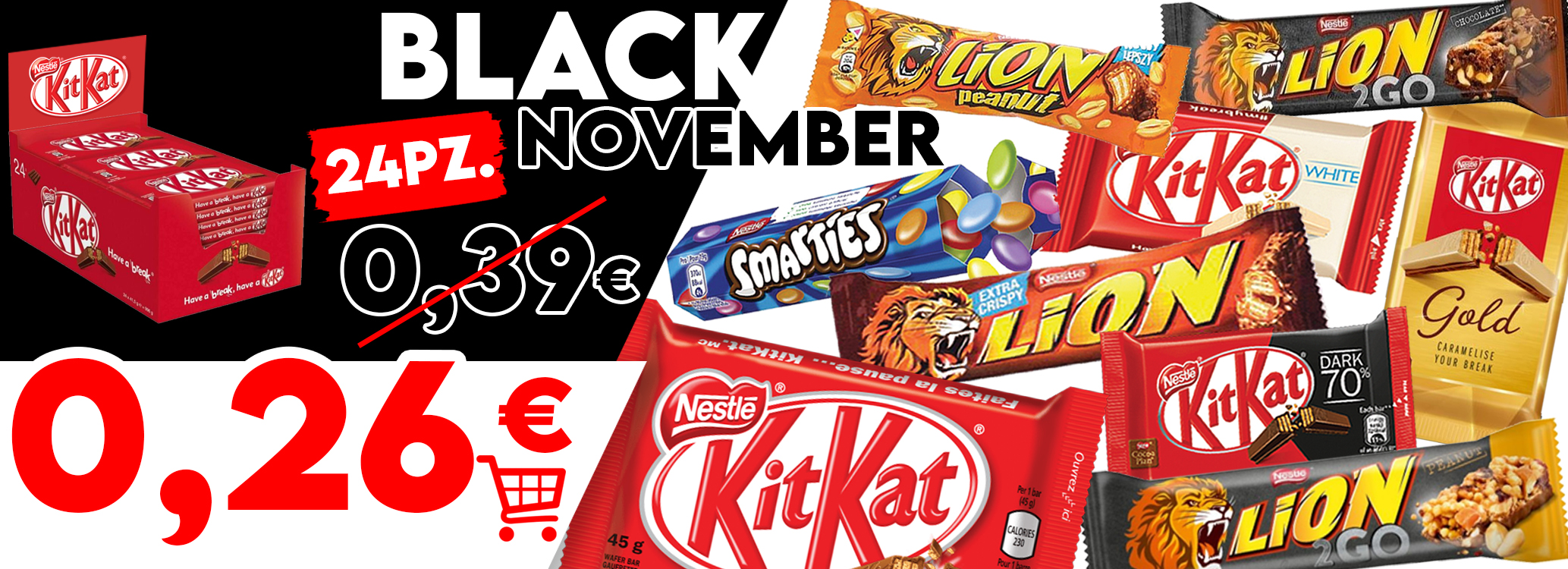 BLACK FRIDAY NESTLE'