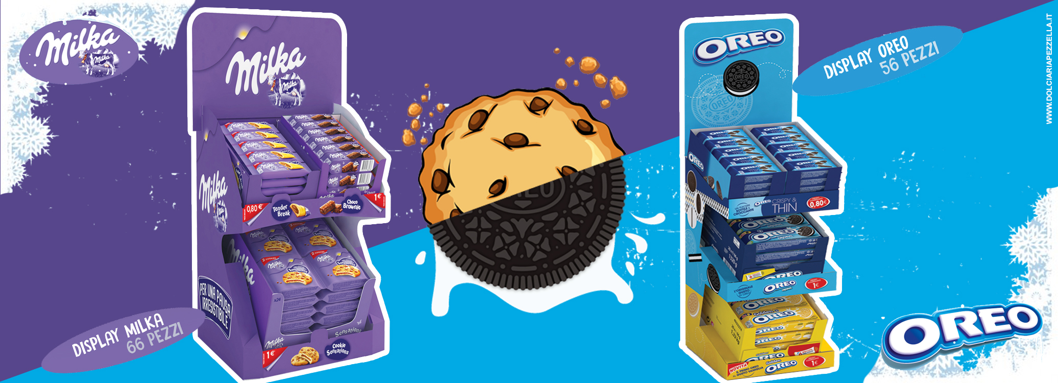 WINTER NEWSSCOPRI I NUOVI EXPO MILKA & OREO