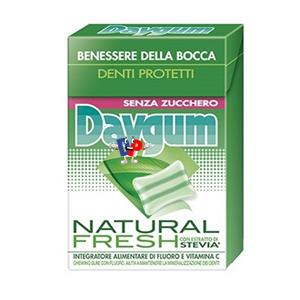 2411 - AST. DAYGUM NATURAL FRESH STEVIA PZ.20