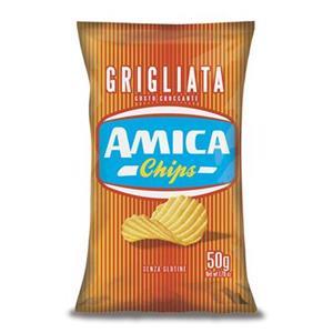 4337 - Amica Chips La Patatina Grigliata Gr.50 Pz.24