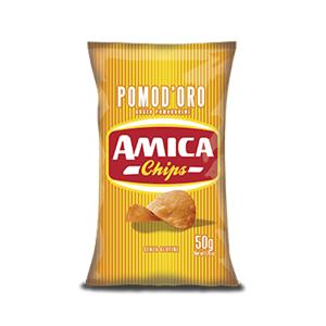 5682 - Amica Chips La Patatina Pomodoro Gr.50 Pz.21