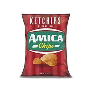 6104 - Amica Chips Patatina Ketchup Gr.25 Pz.28