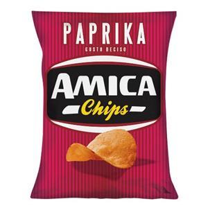 5218 - Amica Chips Patatina Paprika Gr.25 Pz.28