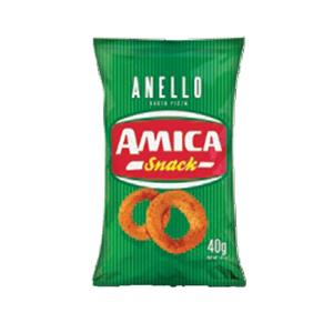 Amica Chips Snack Anello Pizza Gr.40 Pz.24