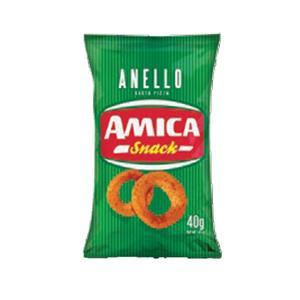 813 - Amica Chips Snack Anello Pizza Gr.40 Pz.24