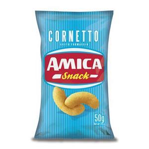 Amica Chips Snack Cornetto Gr.50 Pz.24