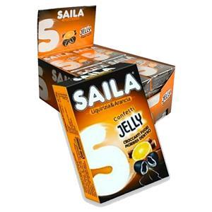 5517 - Astuccio Saila Jelly Liquirizia Arancia Pz.16