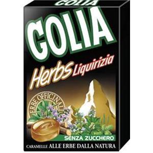 Astuccio Golia Herbs Liquirizia Pz.20