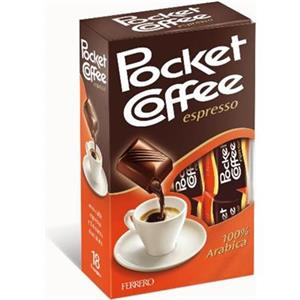 1003 - Astuccio Pocket Coffee Gr.225 Pz.18