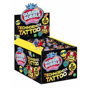 BUBBLE GUM TECHNO TATTOO PZ.200