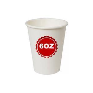 5850 - Bicchieri Cartoncino 6 OZ 160 Cc Pz.50