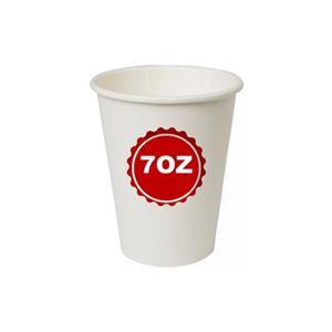 6537 - Bicchieri Cartoncino Compost. 7 OZ Cc.185 Pz.50