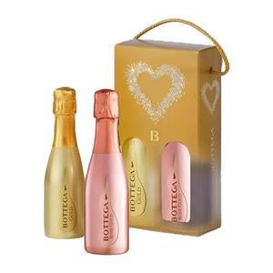 Bottega Confezione Glamour Mini Prosecco Gold e Rosè Cl.20