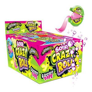 6179 -  Bubble Gum Sour Crazy Roll Frizz Gr.18 Pz.24