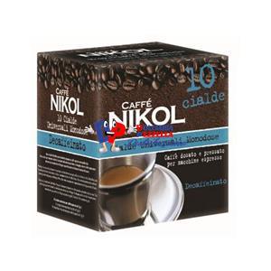CAFFE NIKOL CIALDE DECAFFEINATO PZ.10