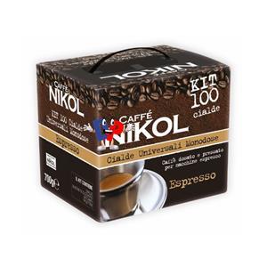 CAFFE NIKOL CIALDE KIT CIALDE MONODOSE PZ.100