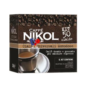4910 - CAFFE NIKOL CIALDE KIT CIALDE MONODOSE PZ.50