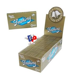 CARTINA ORO DOUBLE SMOKING PZ 25