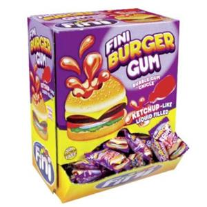 CHICLE BURGER GUM PZ.200