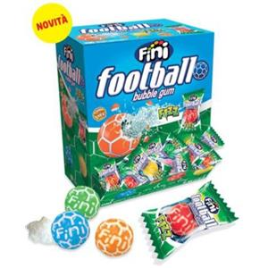 5265 - CHICLE FOOTBALL MULTICOLOR PZ.200