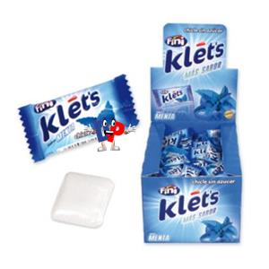 CHICLE KLETS PEPPERMINT S.Z. PZ.200