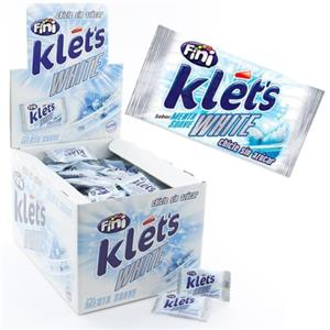 5007 - CHICLE KLETS WHITE S.Z. PZ.200
