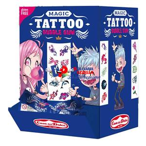 CHICLE MAGIC TATTOO PZ.200