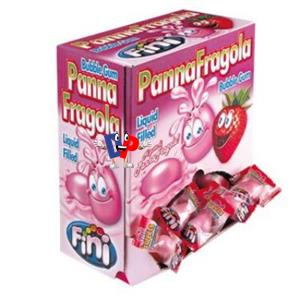 CHICLE PANNA FRAGOLA PZ. 200