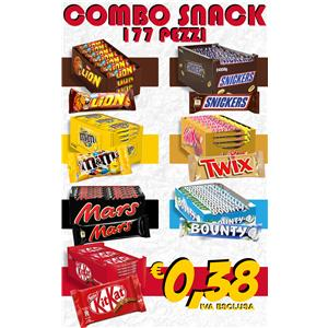 COMBO SNACKS PZ.177: