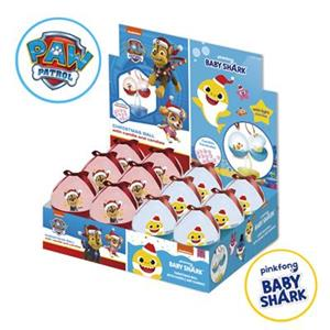 Christmas Ball With Candies Paw Patrol Baby Shark Gr.60 Pz.12