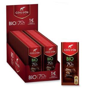 5932 - Cote D'or Bio Tavolette Fondente 70% Gr.35 Pz.30