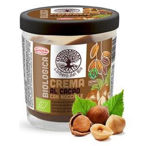 6096 -  Crema Spalmabile Bio Cacao e Nocciole Gr.200