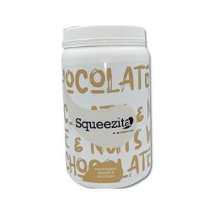 Crema Spalmabile Squeezeta Bianco e Nocciole Kg.2