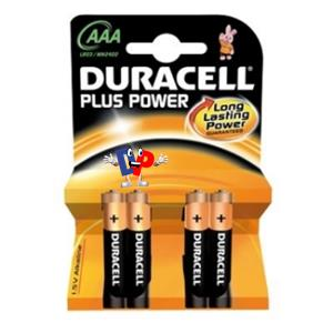 DURACELL MINI STILO PLUS PZ.10