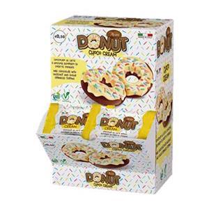 6555 - Donuts Cioccolato e Crema Gr.15 Pz.32