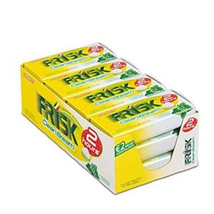 FRISK CLEAN BREATH LEMONMINT PZ.12