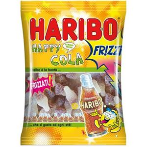 2364 - Haribo Happy Cola Frizzi  Gr.100 Pz.30
