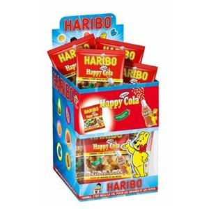 Haribo Mini Happy Cola Gr.40 Pz.30