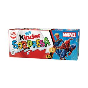 192 - Kinder Sorpresa Marvel Gr.60 Pz.1x3
