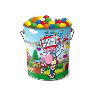 LATTA BUBBLE GUM FRAGOLA PZ.250