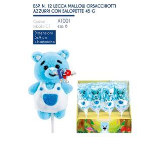 5283 - LECCA MALLOW ORSACCHIOTTI AZZURRI SALOPETTE GR.45 PZ.12