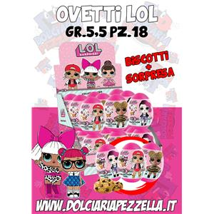 5719 - LOL OVETTO SORPRESA COOKIES GR.5,5 PZ.18