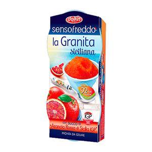 La Granita Siciliana Arancia Rossa Ml.100 Pz.1x2