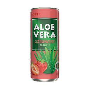 6236 - Lattina Aloe Vera Fragola Cl.25 Pz.6