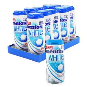 Mentos Always White Peppermint Pz.10