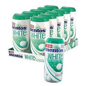 Mentos Always White Sweet Mint Pz.10