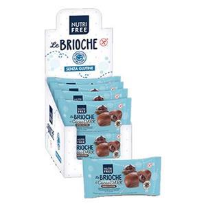 6386 - Nutrifree Brioche Al Cacao Extra Fondente Gr.50 Pz.8