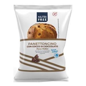 6599 - Nutrifree Panettoncino Con Gocce Di Cioccolato Gr.100 Pz.8