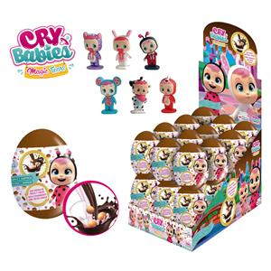 Ovetti Choco&Toys Cry Babies Gr.5 Pz.24